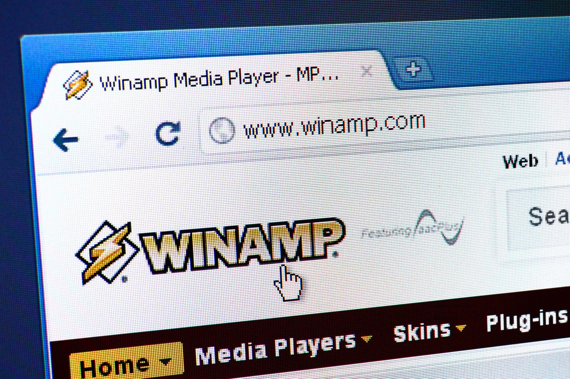 Este museu digital reúne todas as skins do clássico Winamp