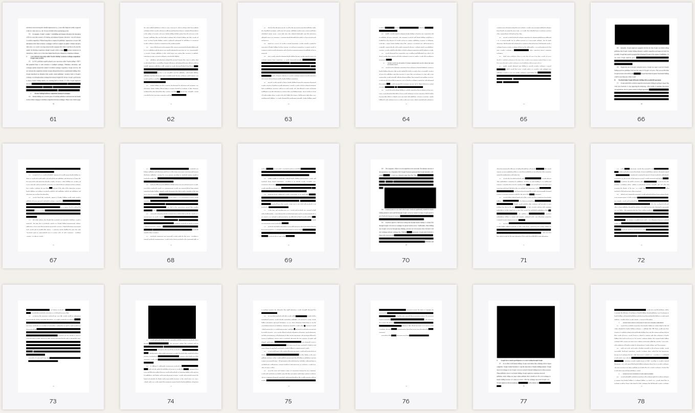 Exemplo da censura na reclamação disponível no site da procuradoria geral do Texas.