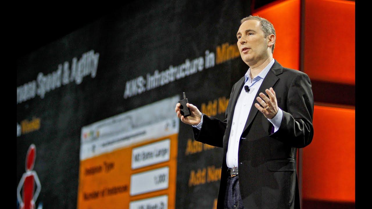 Andy Jassy durante o evento re:Invent Day 1, em 2012. Foto: Divulgação AWS.