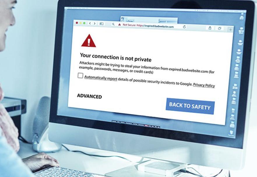 DNS é responsável por traduzir endereços de IP em domínios web. Um DNS Protetivo analisa o IP requisitado antes de te levar pro domínio. Se for identificado IP malicioso, uma mensagem indicando que o site prestes a ser acessado por não ser seguro. Foto: Josiah Dykstra.