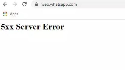 Domínios do Facebook, do WhatsApp e do Instagram retornavam o erro 5xxx após uma requisição. Foto: The Hack.
