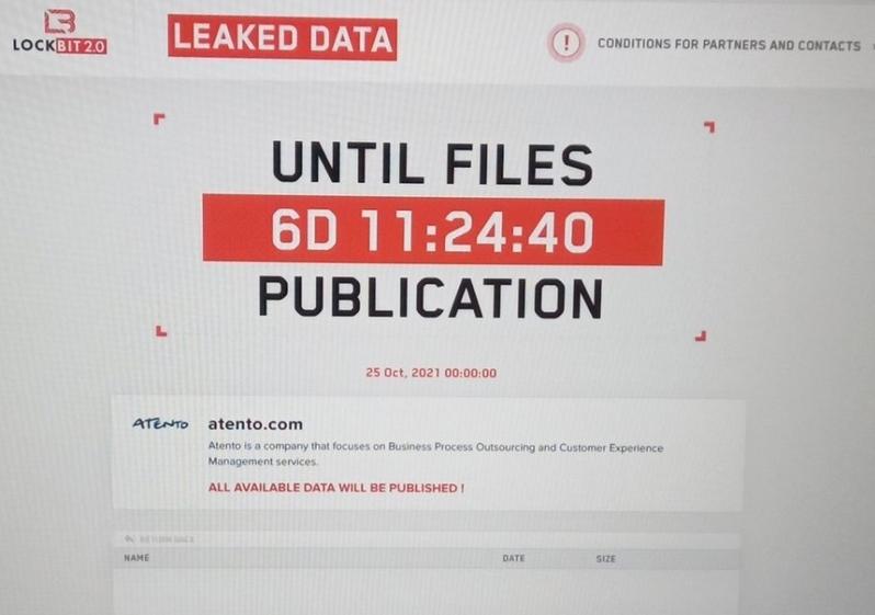 Atento é vítima de ransomware; operações no Brasil estão paralisadas